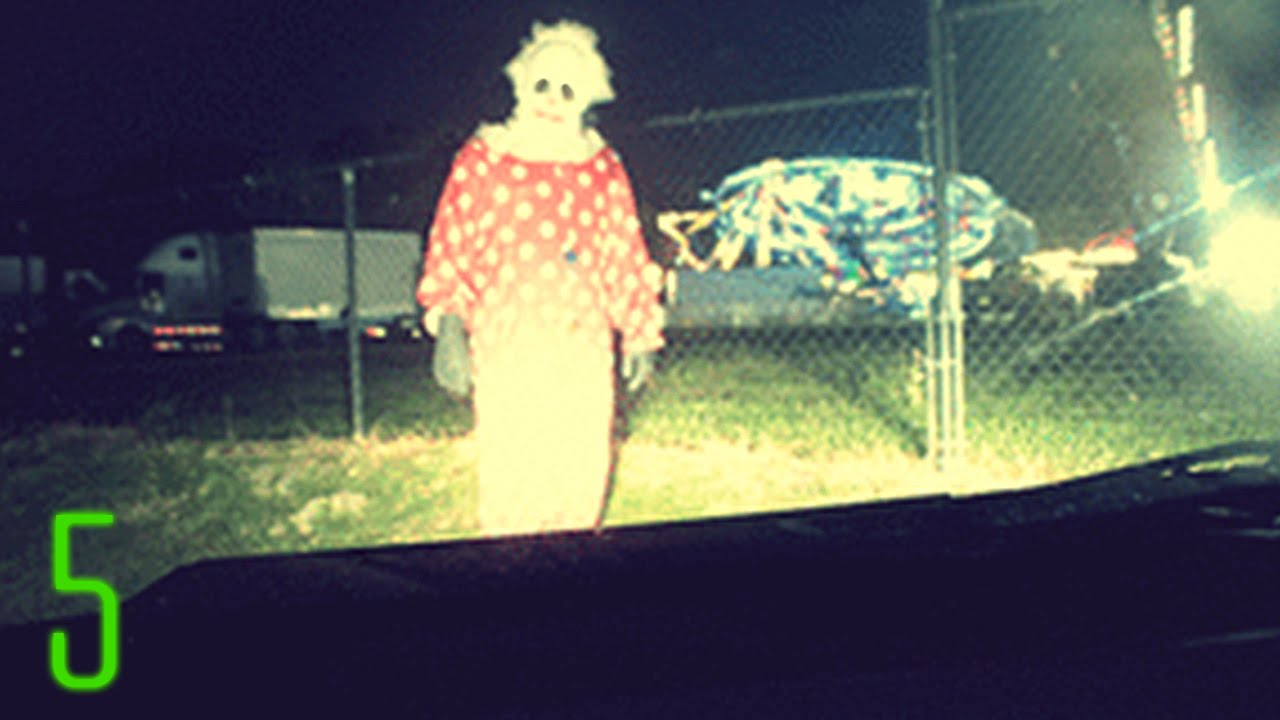 Disturbing clown sightings caught on camera youtube