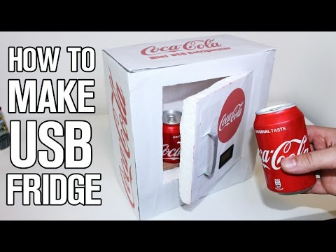 How To Make a Mini USB Refrigerator