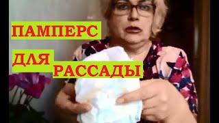 Рассада и весь огород в памперсах!(, 2016-04-10T20:11:49.000Z)