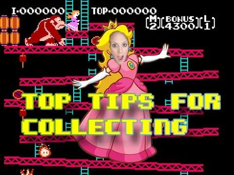 Top tips for Collecting Retro Video Games