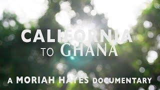 California to Ghana