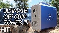 HUGE Solar Generator For OFF GRID! 1500Wh MAXOAK Bluetti Lithium Portable Power Station Review