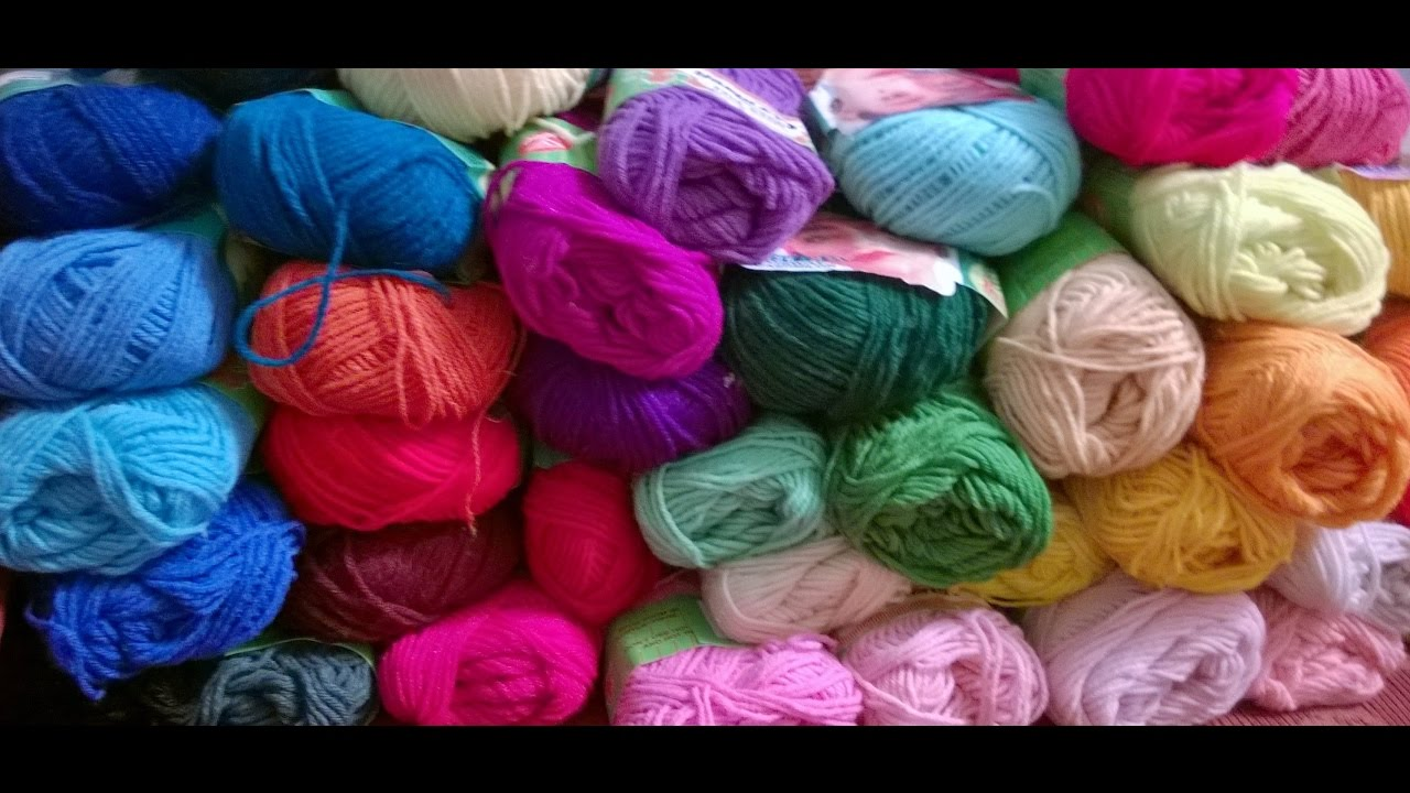 8ce8c48c4b8a malayalam crochet) My first yarn haul from India and unboxing - 2017 ...