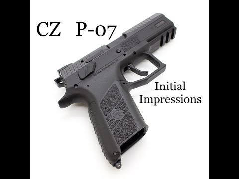 CZ P-07: Initial Impressions and Overview