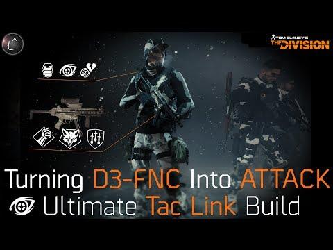 The Division 1.7 | Ultimate PvE Tac Link Build | D3-FNC