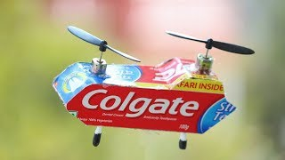 How to make a Helicopter - Colgate Helicopter