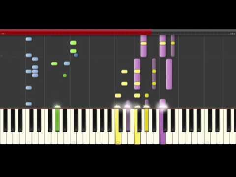 Era Estrefi Bonbon piano midi karaoke sheet partitura for remix or cover