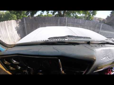 How To Remove A Dash Cover From Square Body Chevy Pickup