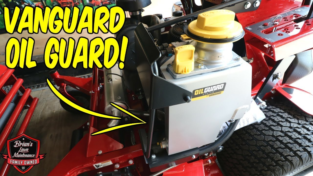 Introducing Oil Guard by Vanguard Engines ► Game Changing Innovation By  Briggs and Stratton