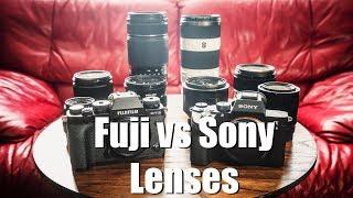 Fuji X-T3 vs Sony A7iii Lens Discussion    Gear Talk #4