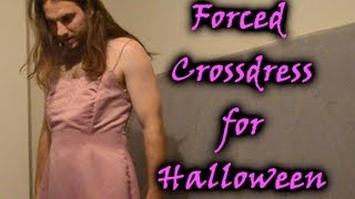 Repeat youtube video How to Force Your Boyfriend to Crossdress Step 6 - Halloween Costume - Carrie