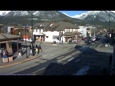 Main Street Livecam, Canmore, Alberta