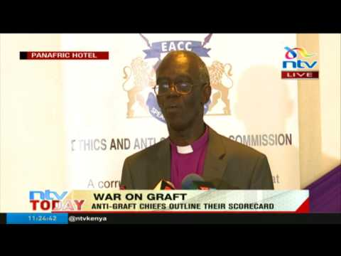 Chair Eliud Wabukala on the EACC scorecard in war against corruption