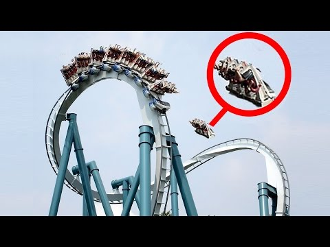 5 Tragic Theme Park Accidents Caught on Camera 2017