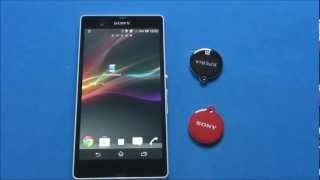 Sony Xperia Z - Smart Tags
