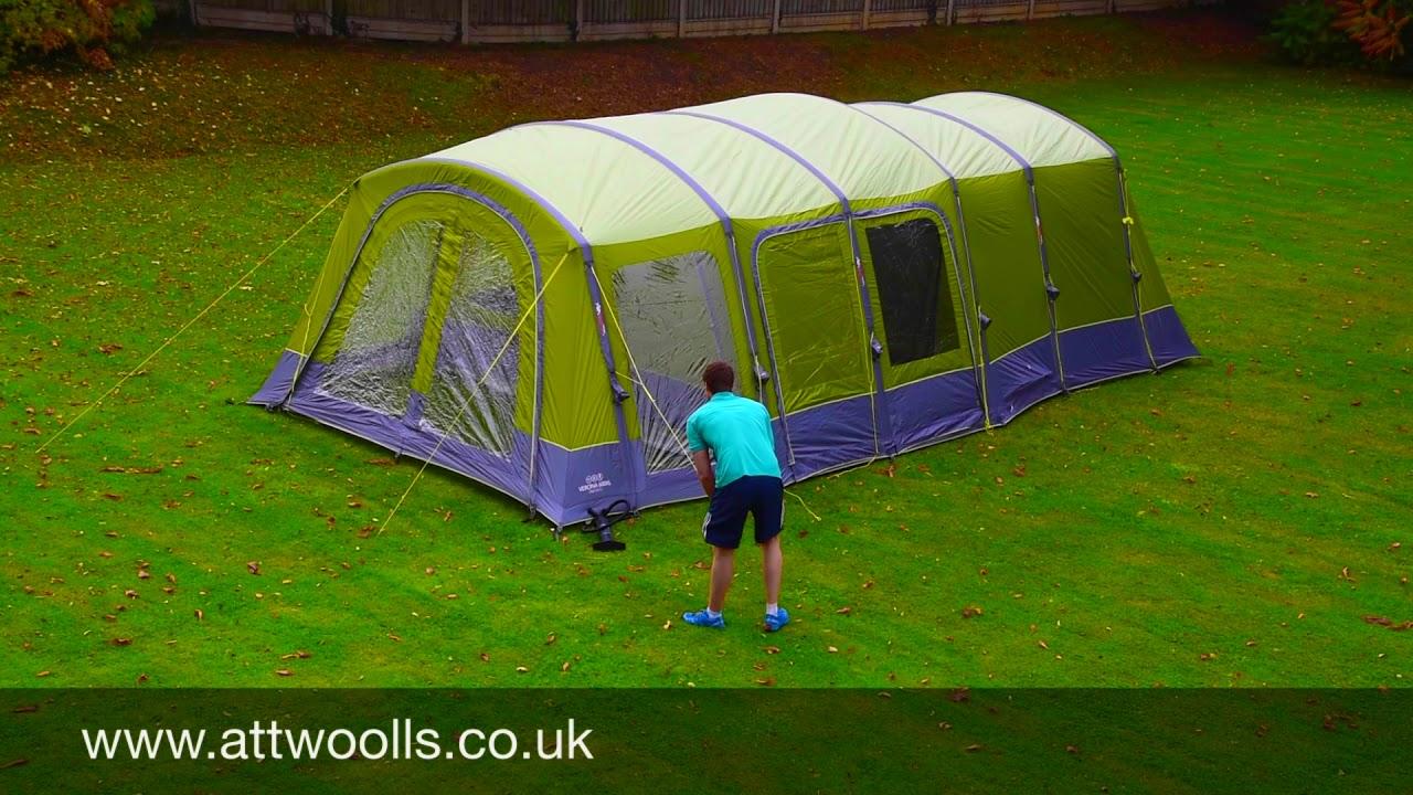 Vango Serenity 600XL Tent Pitching u0026 Packing (Real Time) Video & Vango Serenity 600XL Tent Pitching u0026 Packing (Real Time) Video ...