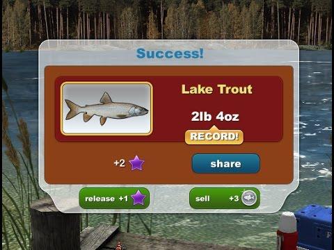 Catching Lake Trout
