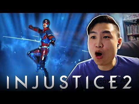 Injustice 2 - NEW ATOM Gameplay Trailer!! [REACTION]