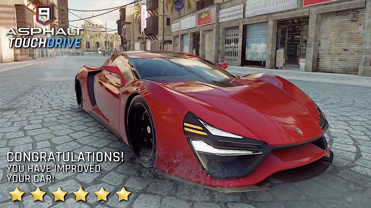 Asphalt 9 Legends Trion Nemesis 6 Stars Maxed Youtube