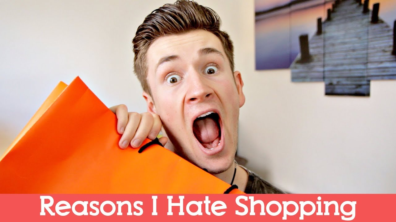 """the reasons why i hate shopping Over the past week, i've been conducting a quiet poll among friends and family concerning whether or not they shop at thrift stores i received a few """"yes"""" answers, but a surprisingly large number of """"no"""" answers without arguing about the reasons, i also asked them why they didn't shop."""