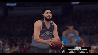 NBA 2k19 PC modded GAMEPLAY