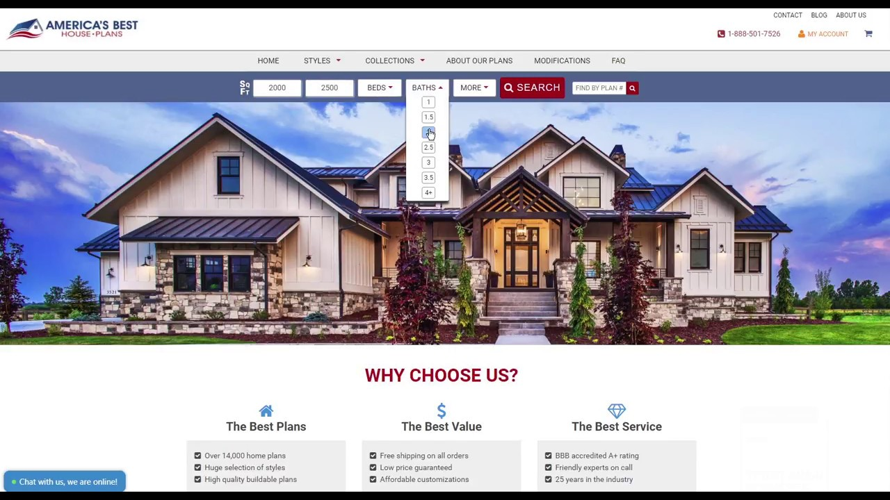 Search Smarter Find The Perfect House Plan
