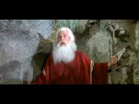 Moses  Ten Commandments  Mel Brooks