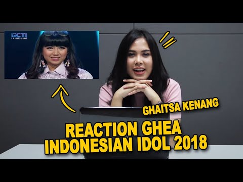 REACTION INDONESIAN IDOL 2018 | GHEA - KANGEN (DEWA19)