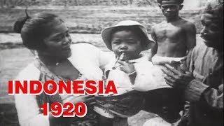 [ rekaman langka ] INDONESIA sebelum merdeka tahun 1920