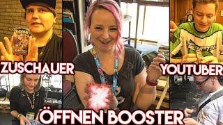 Zuschauer & YouTuber öffnen MEINE Pokémon Booster