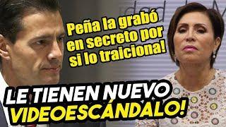 Le tienen nuevo videoescándalo a Rosario! Peña Nieto la grabó en secreto por si se le volteaba