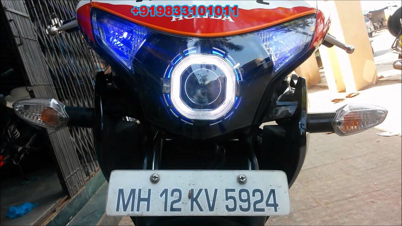 Honda Cbr Repsol 250 Projector Headlight By Vishal Youtube Hand Guard New 250rr