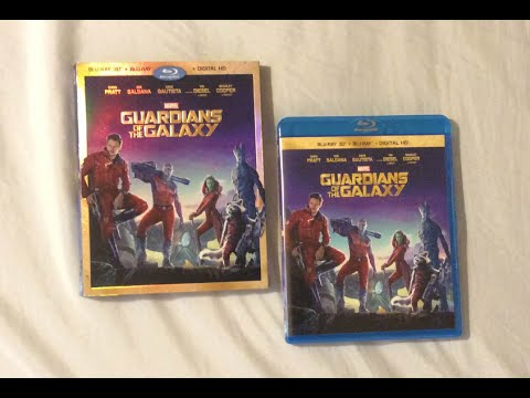 Download Guardians of the Galaxy (2014) Blu Ray Review and Unboxing