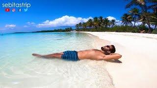 ISLA CONTOY La playa mas hermosa de Mexico @sebitastrip