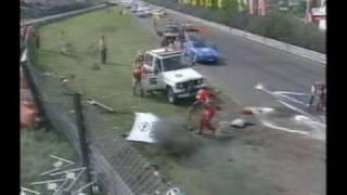 John Winter has a fiery accident at Avus DTM 1994