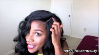 Equal Synthetic Invisble Part Lace Wig Leslie Elevate Styles Youtube Channel