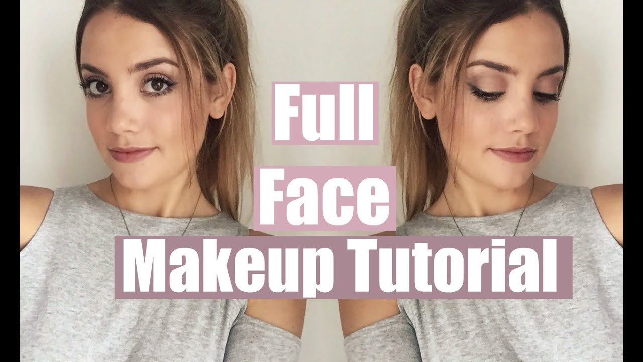 Full face makeup tutorial everyday natural looking youtube baditri Gallery