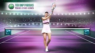 Maria Sharapova #TEBTennisStars'ta nefesleri kesmeye geliyor!