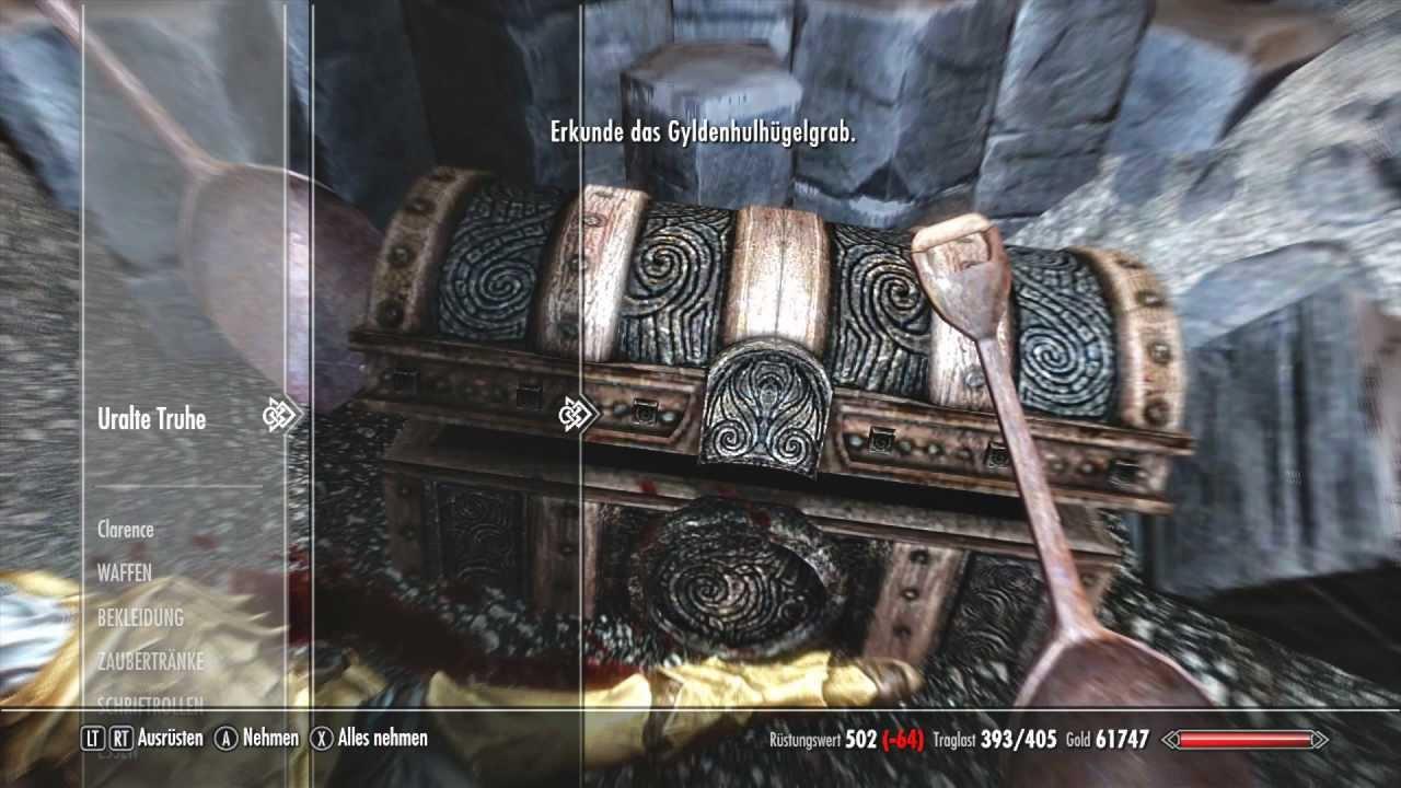 Let\'s Play Skyrim Dragonborn DLC [Deutsch] #049: Die Todesmal Truhen ...