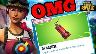 NEW DYNAMITE ITEM COMING SOON SQUAD WITH SUBSCRIBERS (Fortnite Battle Royale)