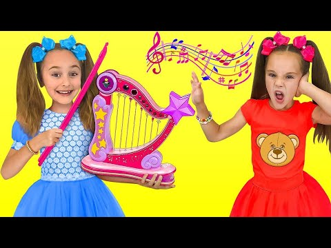 Sasha and Friends play Music Band 1 Hours. Kids Songs and Nursery Rhymes