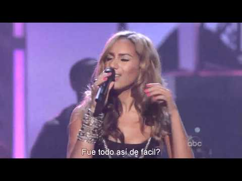 Leona Lewis - Better In Time (Sub Español) [Live]