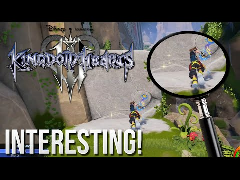 Kingdom Hearts 3 - One Interesting Detail You Probably Missed!