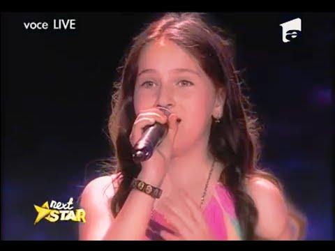 "Teodora Sava - Whitney Houston - ""One Moment In Time"" - Next Star"
