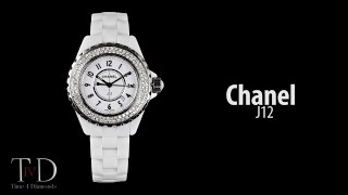 Chanel J12 Round Brilliant Diamonds 33mm Quartz in white ceramic (T4D) watch review