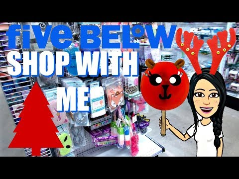 FIVE BELOW CHRISTMAS SHOP WITH ME   $1 to $5 CLOTHES, COZY ROOM DECOR, NEW SKINCARE & MORE!!!
