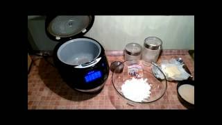 Домашние видео рецепты - творожный кекс с изюмом в мультиварке