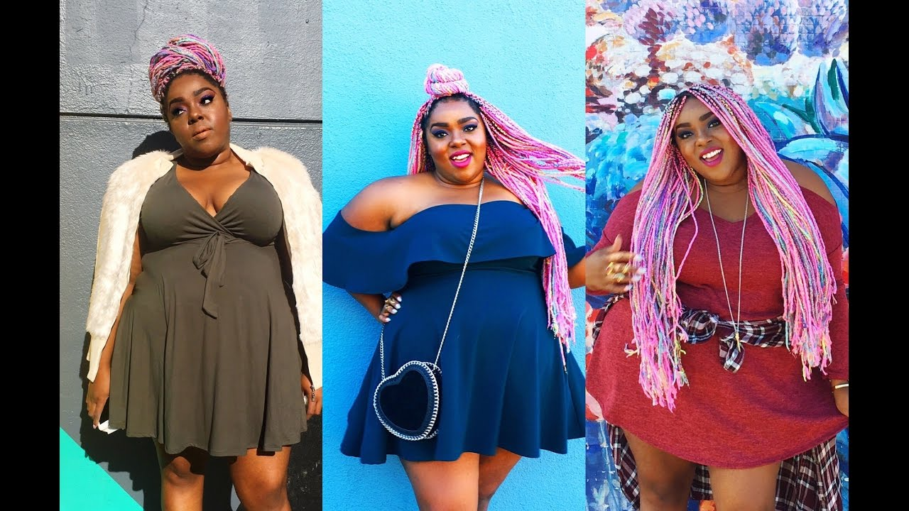 Plus Size Try On Haul Giveaway Deb Shops Fall 2016 Youtube