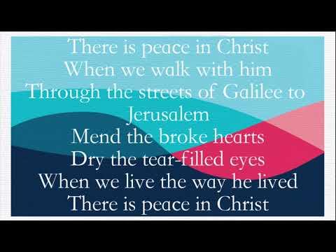 Peace In Christ McKenna Hinson and Nik Day lyrics