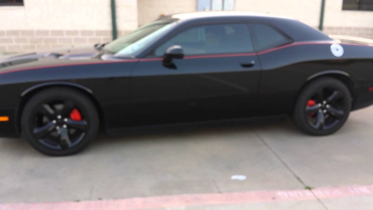 Dodge Challenger Sxt Sinister 2013 Youtube